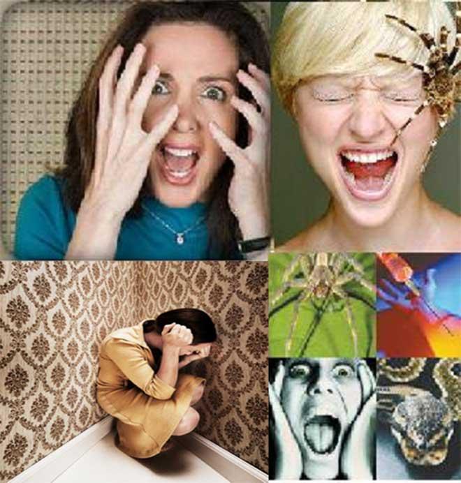 Que es una fobia y tipos de fobias